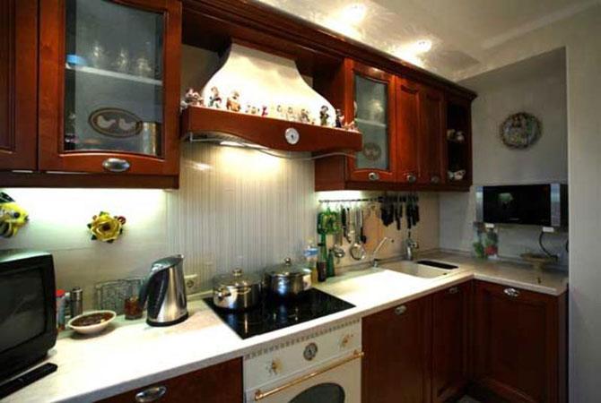 Интерьеры кухни с ремонтом