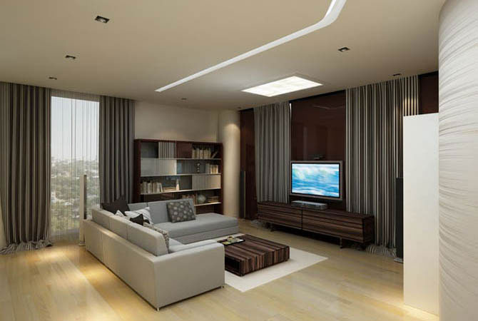 Интерьер квартир с белым плинтусом